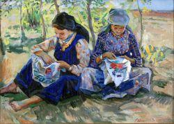 Вышивальницы