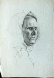 Быстрый портрет моей бабушки