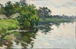 Пейзаж реки в г. Богуславе