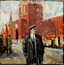 Ленин у Кремлевской стены