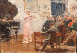 Артисты у московских художников