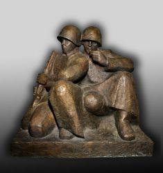 Два солдата на отдыхе
